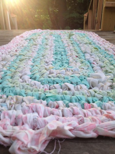 Redemptive rug