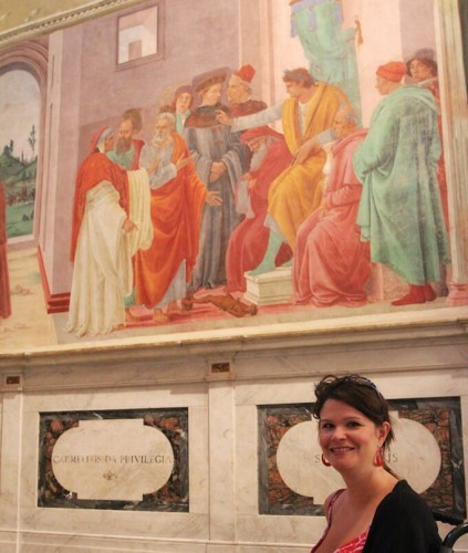 At the Brancacci chapel