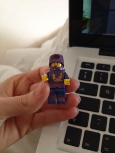 Mini Lego Magic Man - for funsies