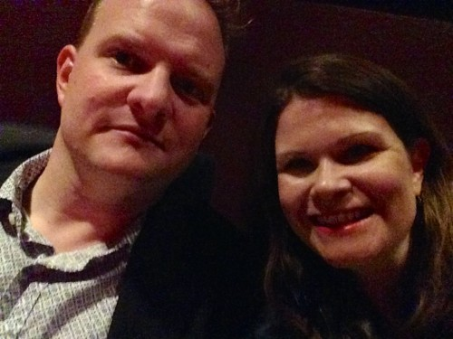 Selfie at the opera