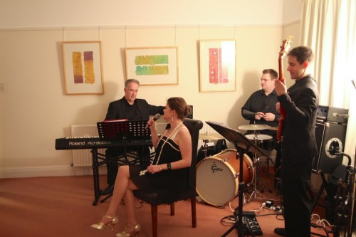 Rehearsing 'Fly Me to the Moon' with Mojito Jazz