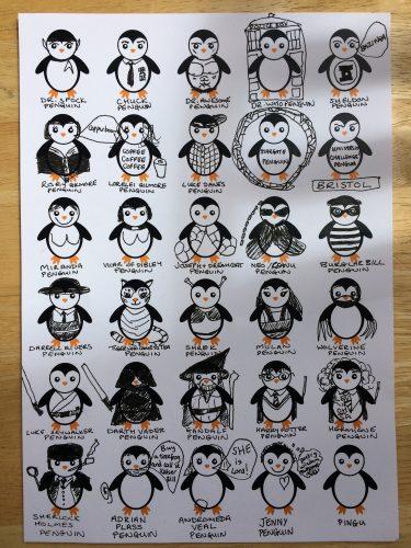 30 of Jenny's Favourite Penguins