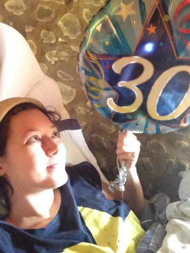 Jenny Rowbory turned 30
