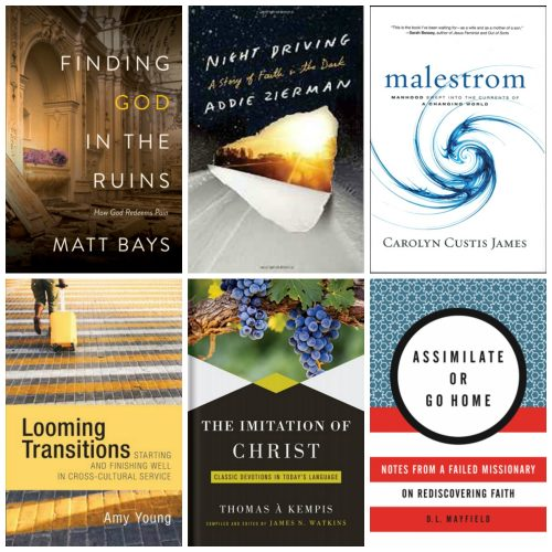 6 Christian books summer 2016