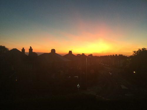 Copyright Tanya Marlow sunset lament